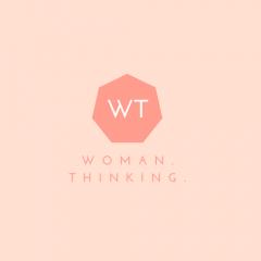 Woman. Thinking.